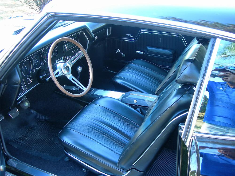 1970 CHEVROLET CHEVELLE MALIBU CUSTOM 2 DOOR COUPE - Interior - 162442
