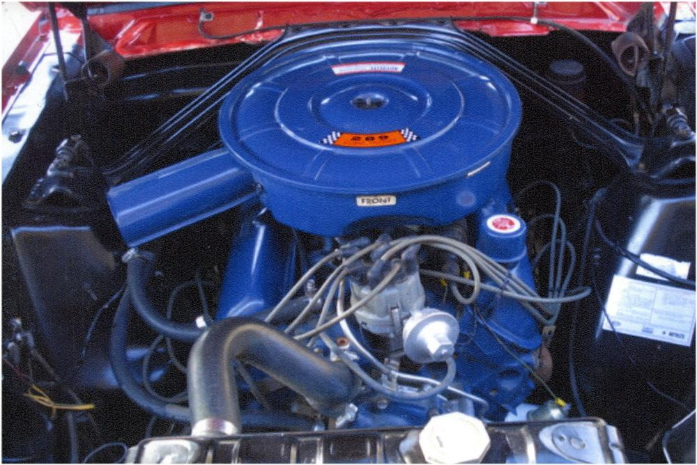 1966 FORD MUSTANG 2 DOOR COUPE - Engine - 162449