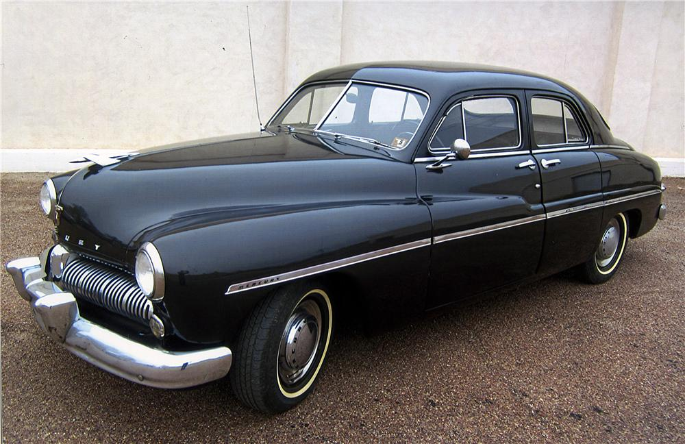 1949 Mercury 4 Door Sedan 162457