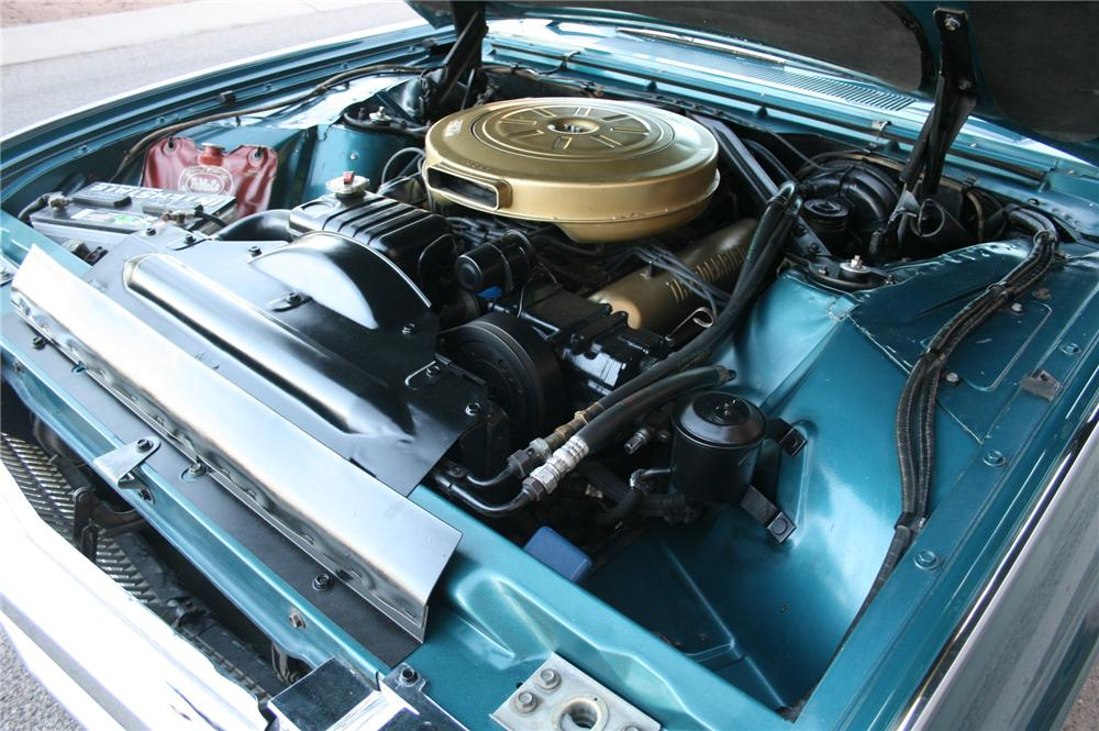1963 FORD THUNDERBIRD CONVERTIBLE - Engine - 162459