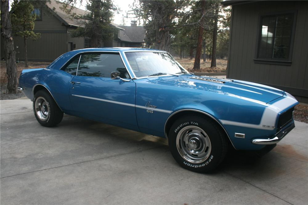 1968 CHEVROLET CAMARO RS/SS 2 DOOR COUPE - Front 3/4 - 162460