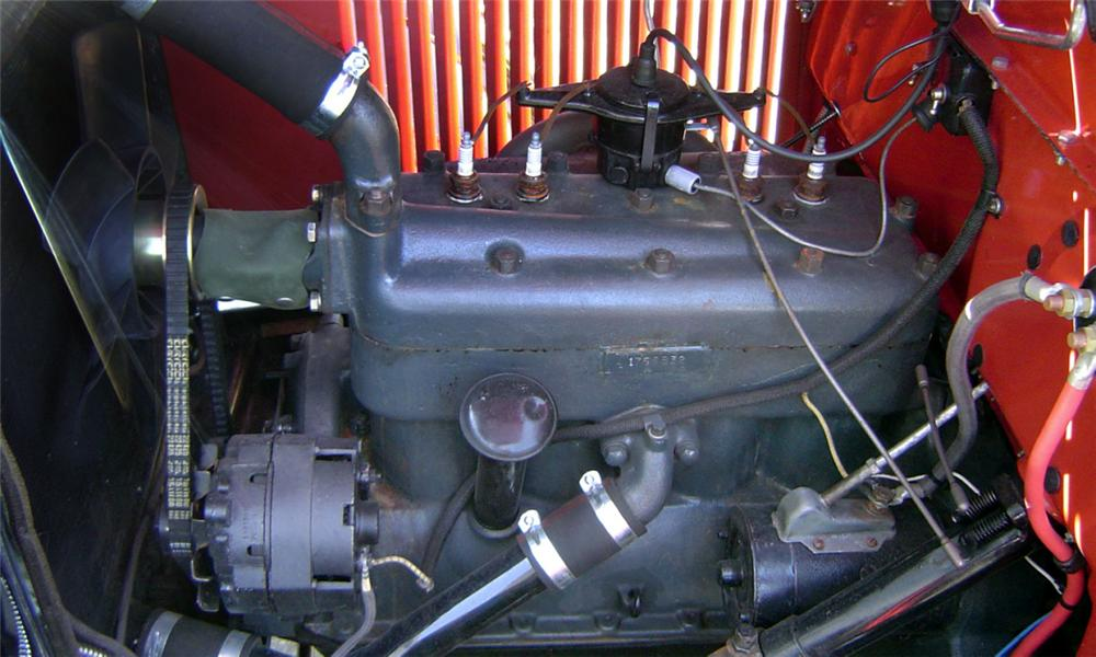 1929 FORD MODEL A WOODY - Engine - 16247