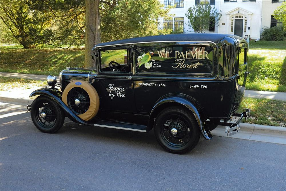 1931 FORD MODEL A VAN DELIVERY - Front 3/4 - 162533