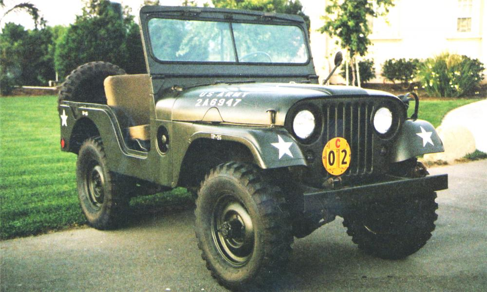 1955 WILLYS JEEP UTILITY - Front 3/4 - 16254
