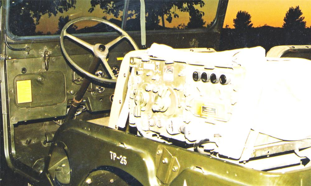 1955 WILLYS JEEP UTILITY - Interior - 16254