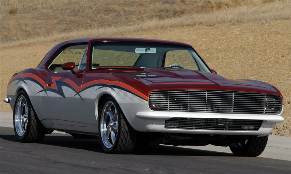 1967 CHEVROLET CAMARO COUPE - Front 3/4 - 16255