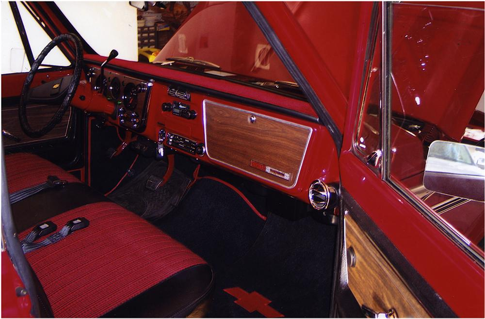 1972 CHEVROLET C-10 PICKUP - Interior - 162569