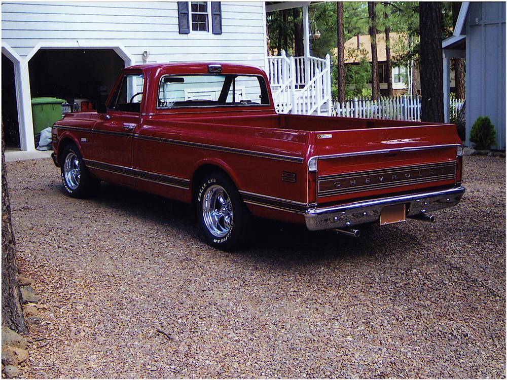 1972 CHEVROLET C-10 PICKUP - Rear 3/4 - 162569