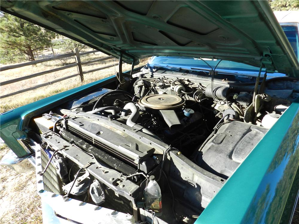 1968 CADILLAC DE VILLE CONVERTIBLE - Engine - 162596