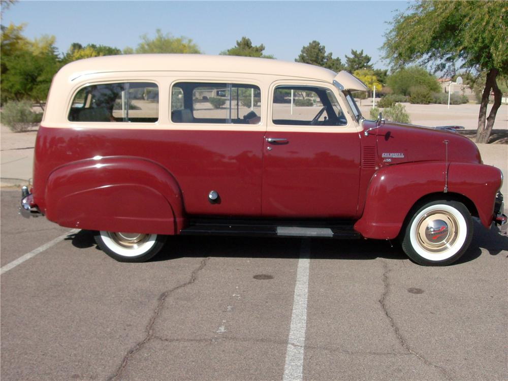 1950 CHEVROLET SUBURBAN  - Side Profile - 162601