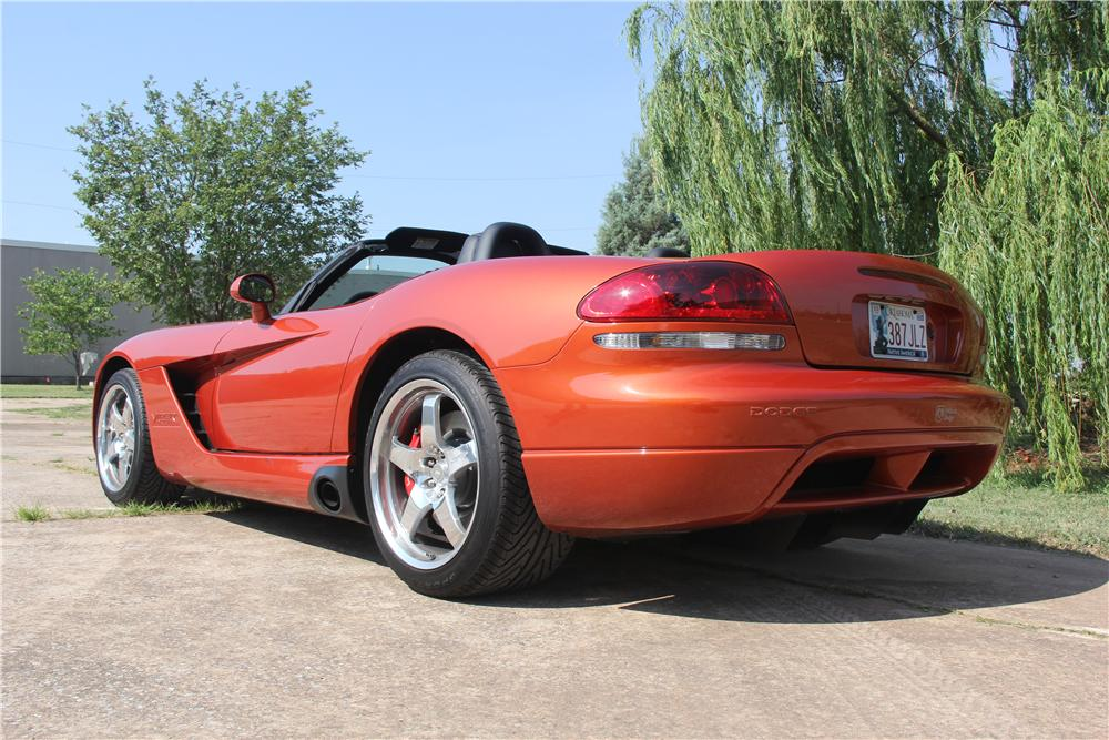 2005 DODGE VIPER COPPERHEAD CONVERTIBLE - Rear 3/4 - 162612