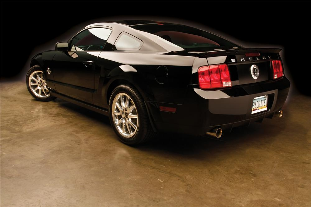2008 SHELBY GT500 KR FASTBACK - Rear 3/4 - 162614
