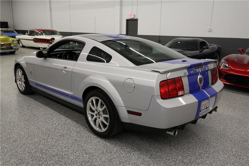 2008 SHELBY GT500 KR FASTBACK - Rear 3/4 - 162615
