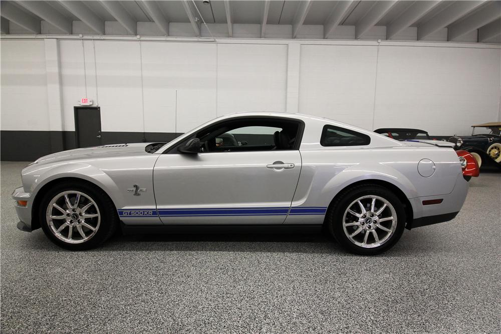 2008 SHELBY GT500 KR FASTBACK - Side Profile - 162615