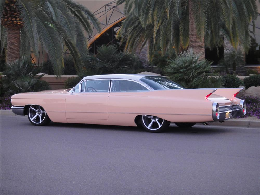1960 CADILLAC COUPE DE VILLE CUSTOM 2 DOOR COUPE - Barrett ...