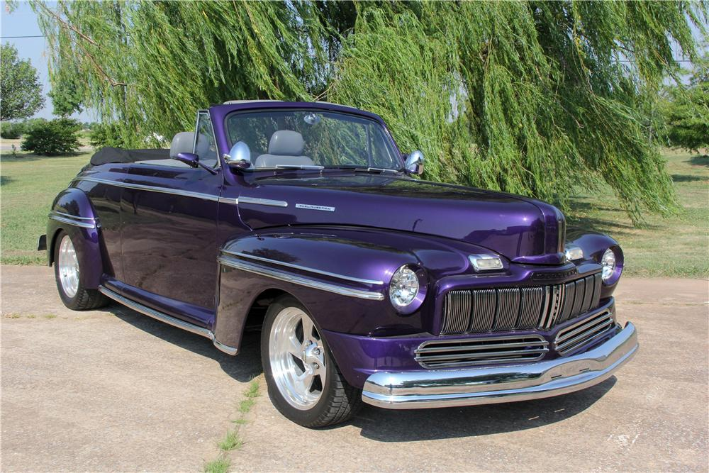 1948 MERCURY CUSTOM CONVERTIBLE - Front 3/4 - 162620