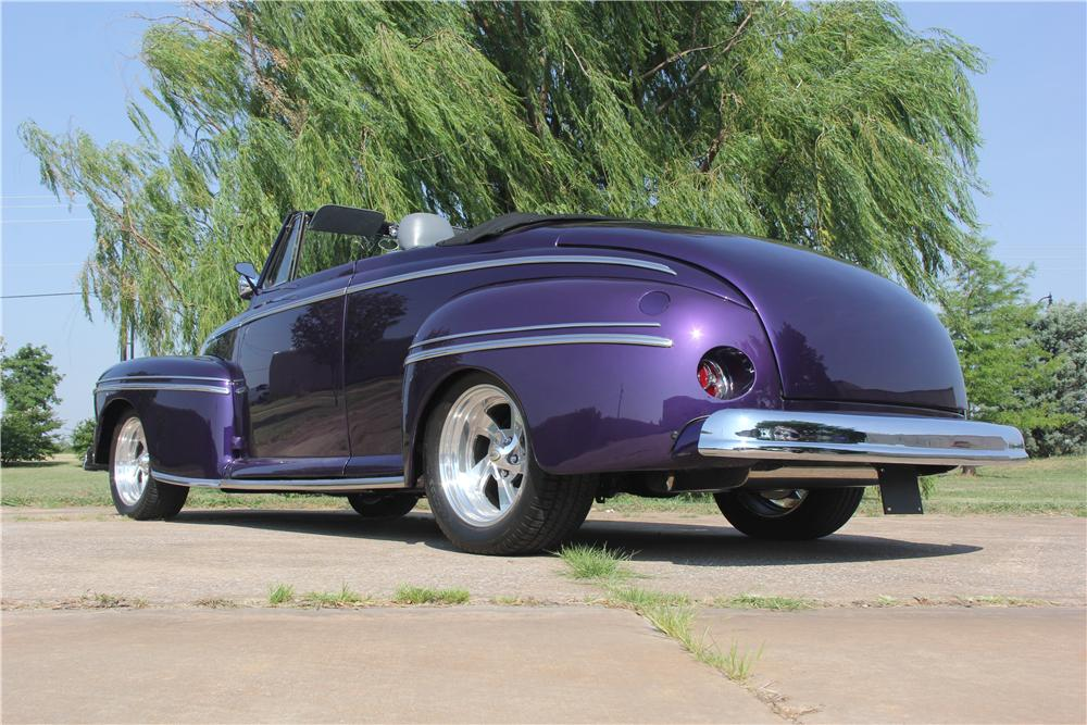 1948 MERCURY CUSTOM CONVERTIBLE - Rear 3/4 - 162620