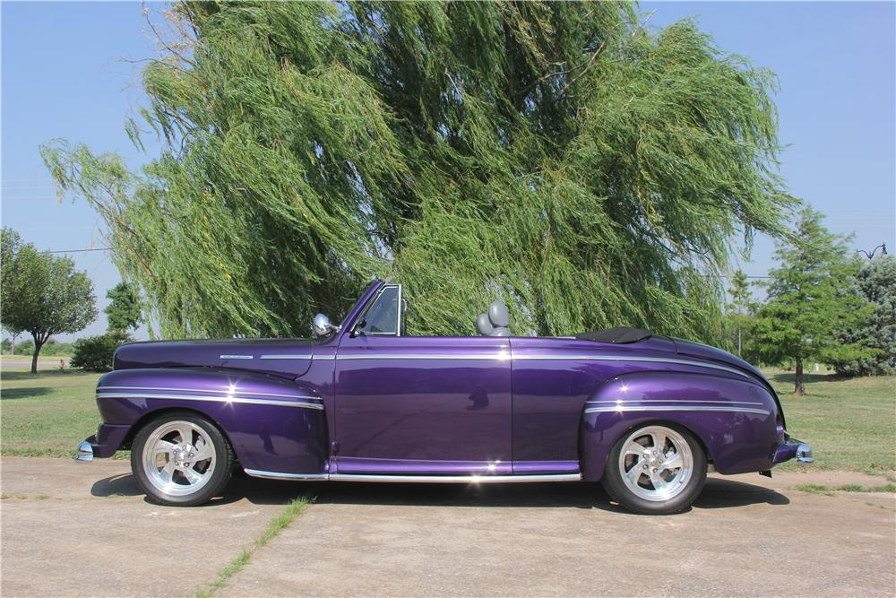 1948 MERCURY CUSTOM CONVERTIBLE - Side Profile - 162620