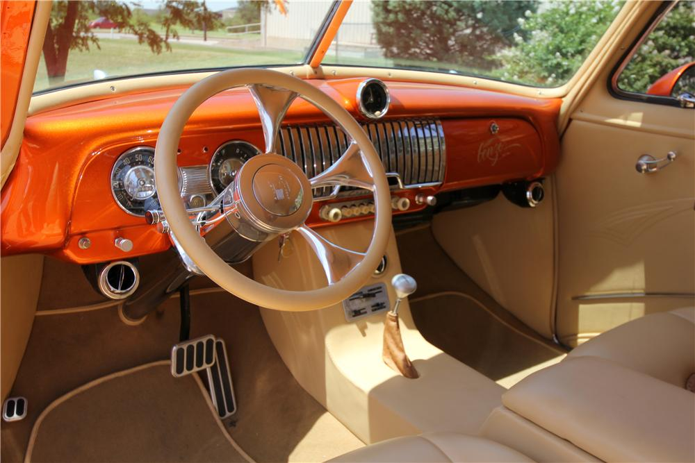 1952 CHEVROLET CUSTOM 2 DOOR COUPE - Interior - 162621