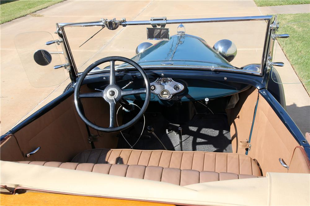 1931 FORD MODEL A ROADSTER - Interior - 162622