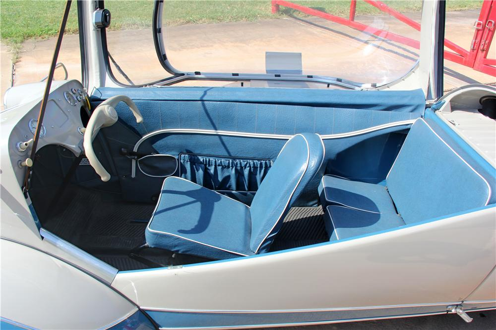 1955 MESSERSCHMITT KR-200 2 SEAT OPENING TOP - Interior - 162624