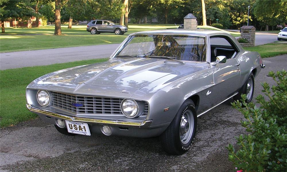 1969 CHEVROLET CAMARO ZL1 COUPE - Front 3/4 - 16263