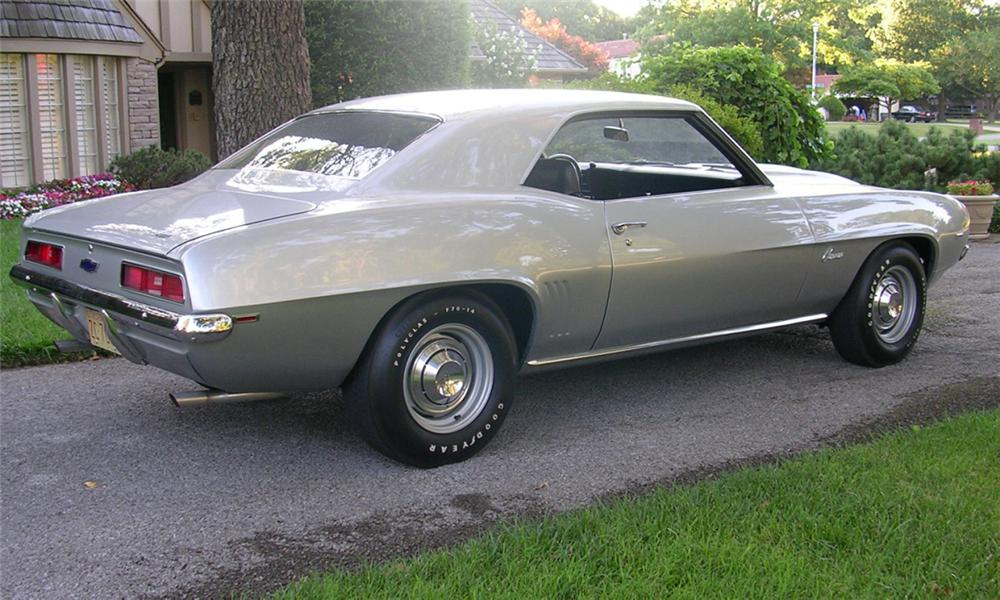 1969 CHEVROLET CAMARO ZL1 COUPE - Rear 3/4 - 16263