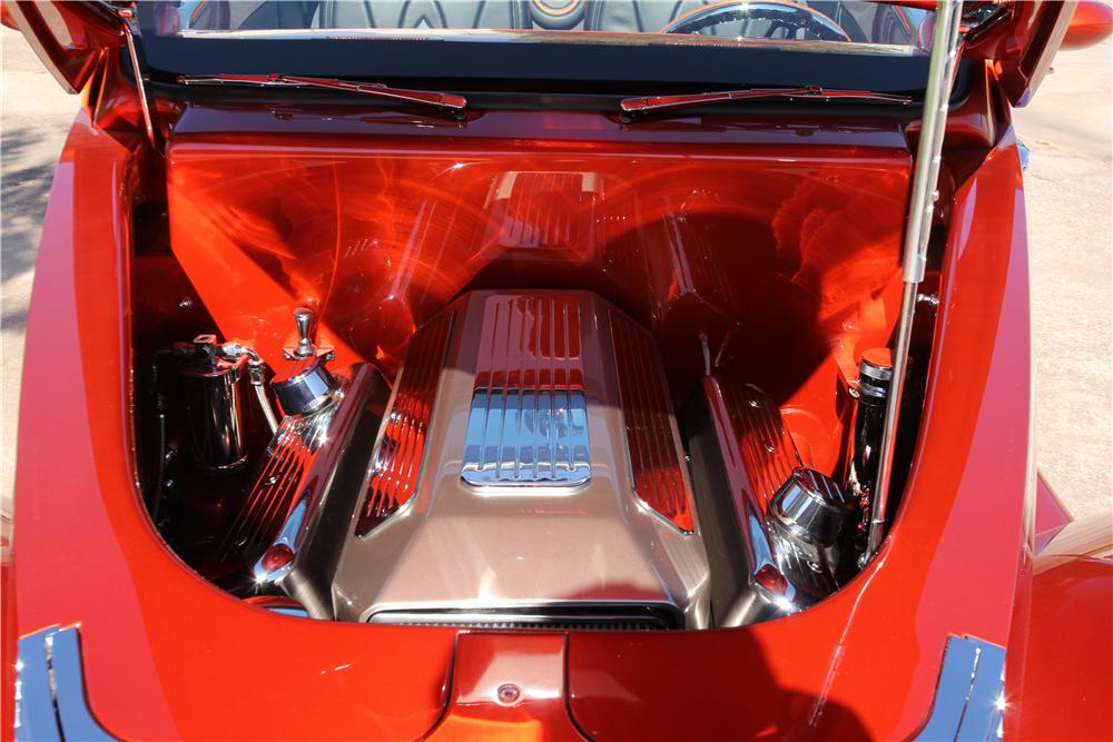 1937 FORD CUSTOM ROADSTER - Engine - 162632