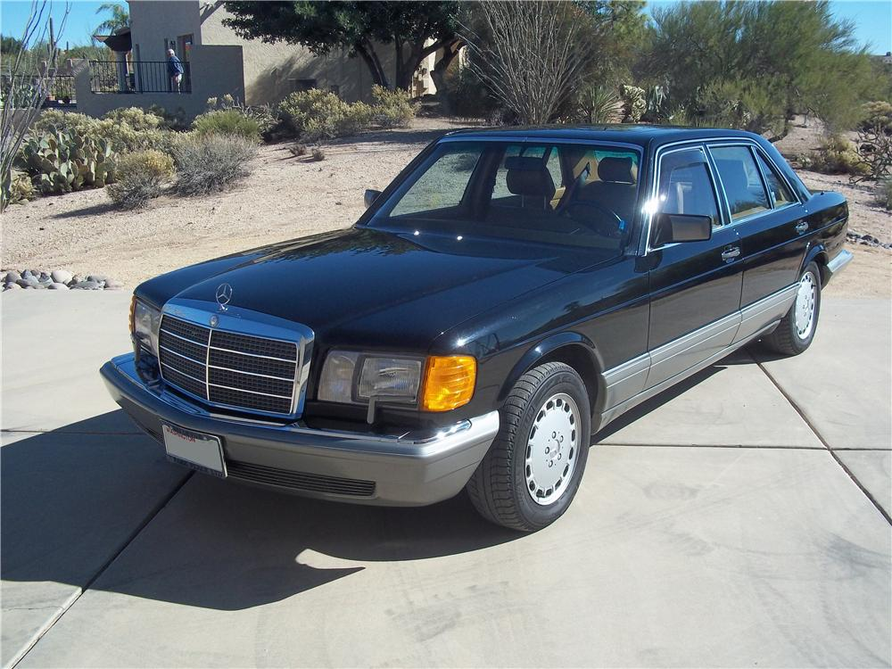 1986 mercedes benz 560sel 4 door sedan 162636