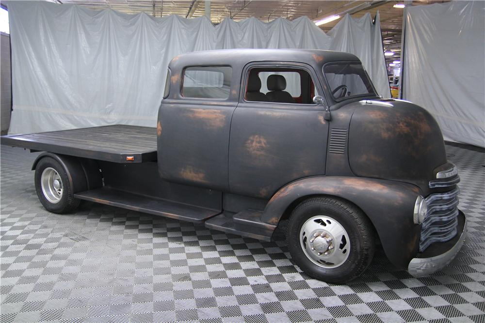 1948 CHEVROLET CUSTOM COE TRUCK - Side Profile - 162642