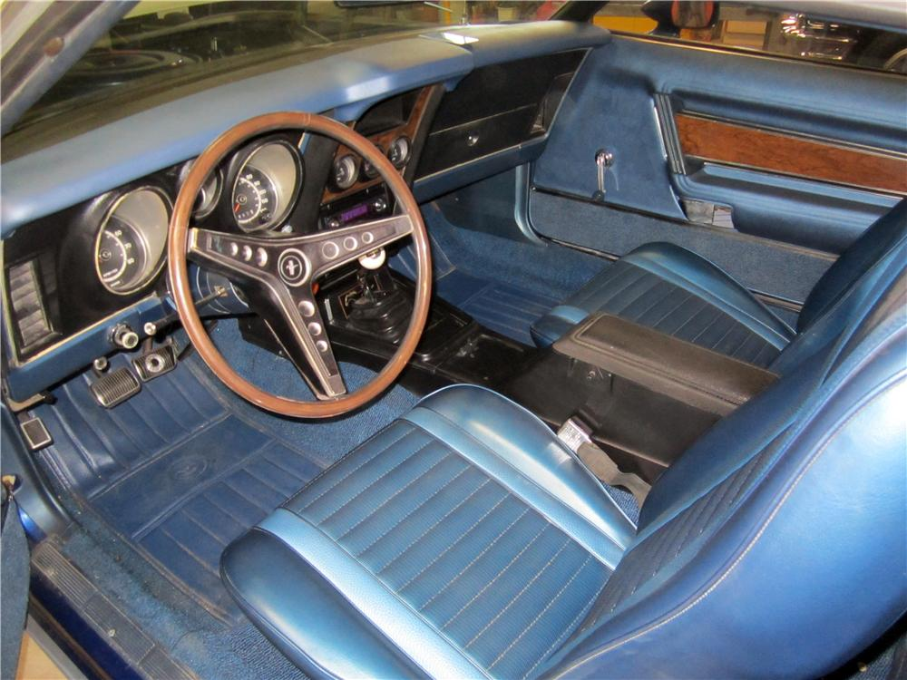 1971 FORD MUSTANG MACH 1 FASTBACK - Interior - 162662