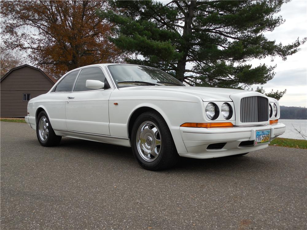 1993 BENTLEY R-TYPE CONTINENTAL 2 DOOR HARDTOP - Front 3/4 - 162679