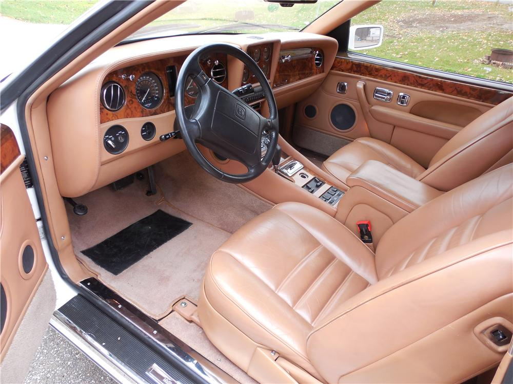 1993 BENTLEY R-TYPE CONTINENTAL 2 DOOR HARDTOP - Interior - 162679