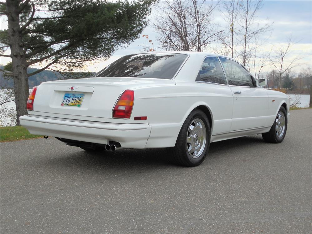 1993 BENTLEY R-TYPE CONTINENTAL 2 DOOR HARDTOP - Rear 3/4 - 162679