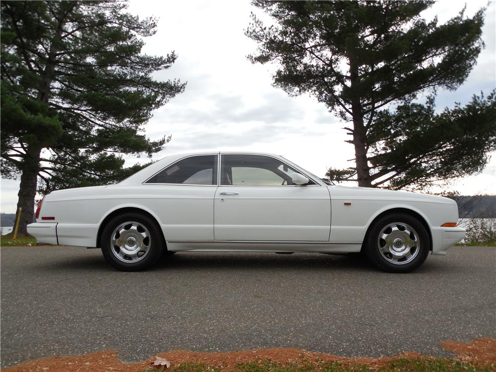 1993 BENTLEY R-TYPE CONTINENTAL 2 DOOR HARDTOP - Side Profile - 162679