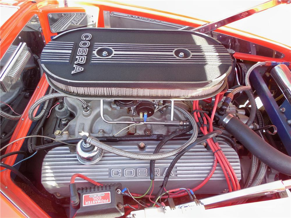 1966 SHELBY COBRA RE-CREATION ROADSTER - Engine - 162684