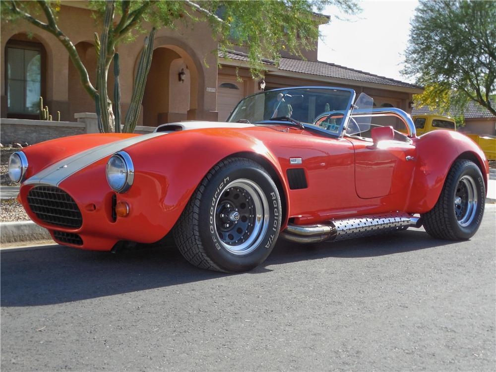 1966 SHELBY COBRA RE-CREATION ROADSTER - Front 3/4 - 162684
