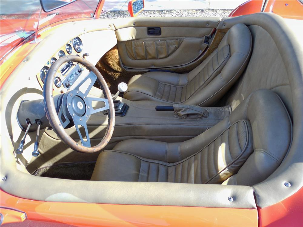 1966 SHELBY COBRA RE-CREATION ROADSTER - Interior - 162684