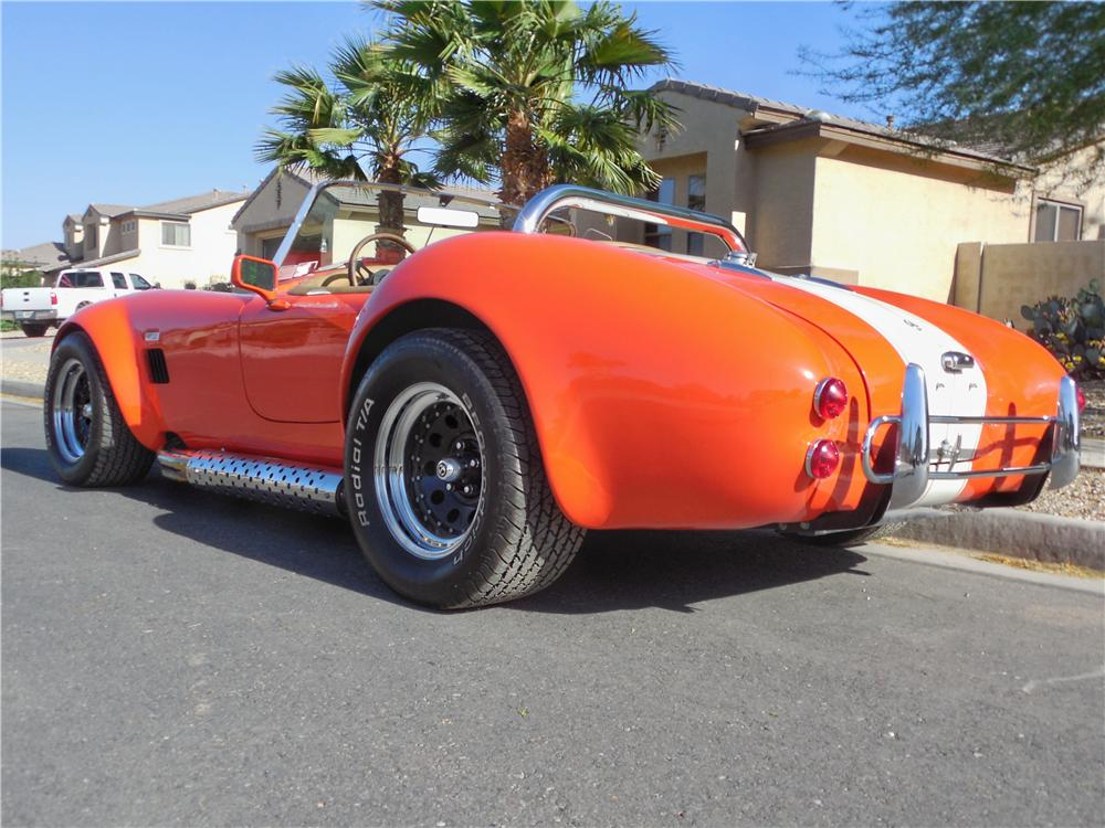 1966 SHELBY COBRA RE-CREATION ROADSTER - Rear 3/4 - 162684