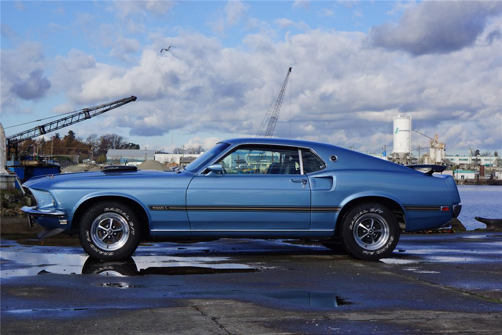 1969 Ford Mustang Mach 1 428 Cj Fastback 162685