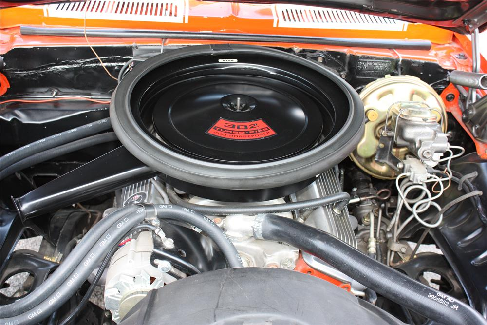 1969 CHEVROLET CAMARO Z/28 2 DOOR COUPE - Engine - 162692