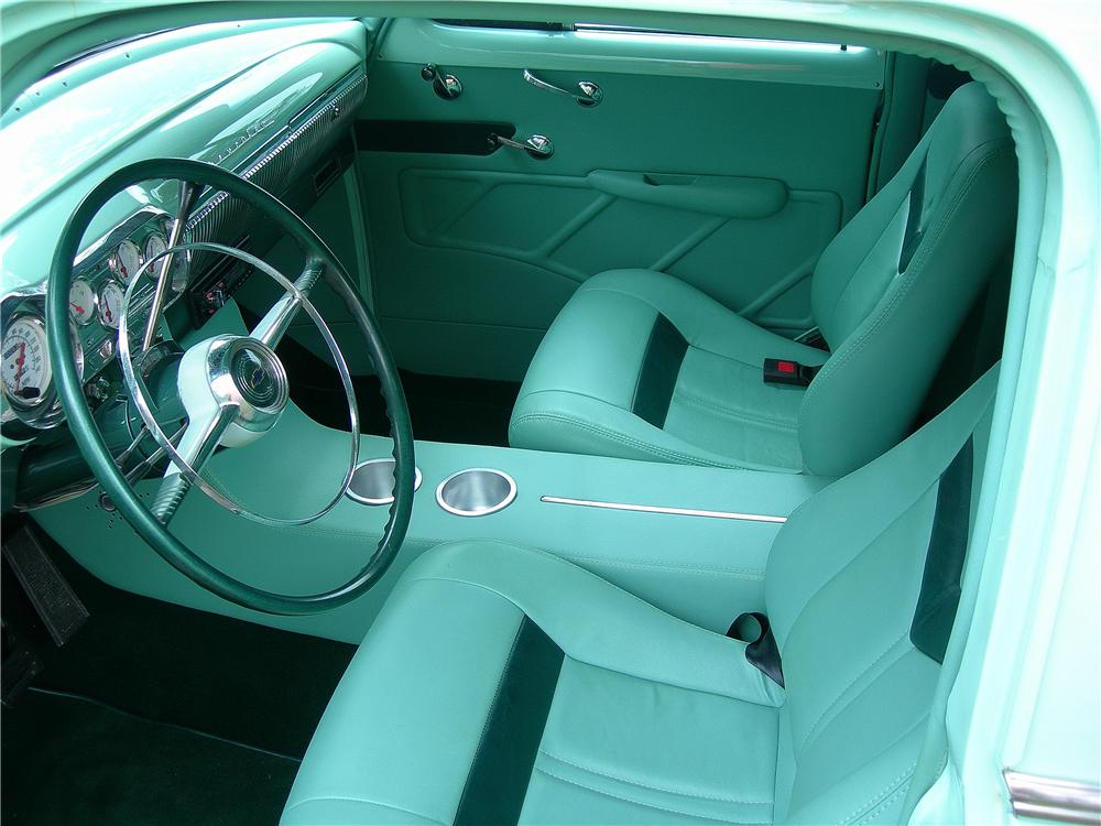 1954 CHEVROLET CUSTOM SEDAN DELIVERY - Interior - 162715