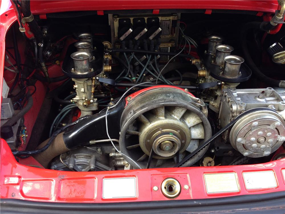 1981 PORSCHE 911 CARRERA COUPE - Engine - 162728