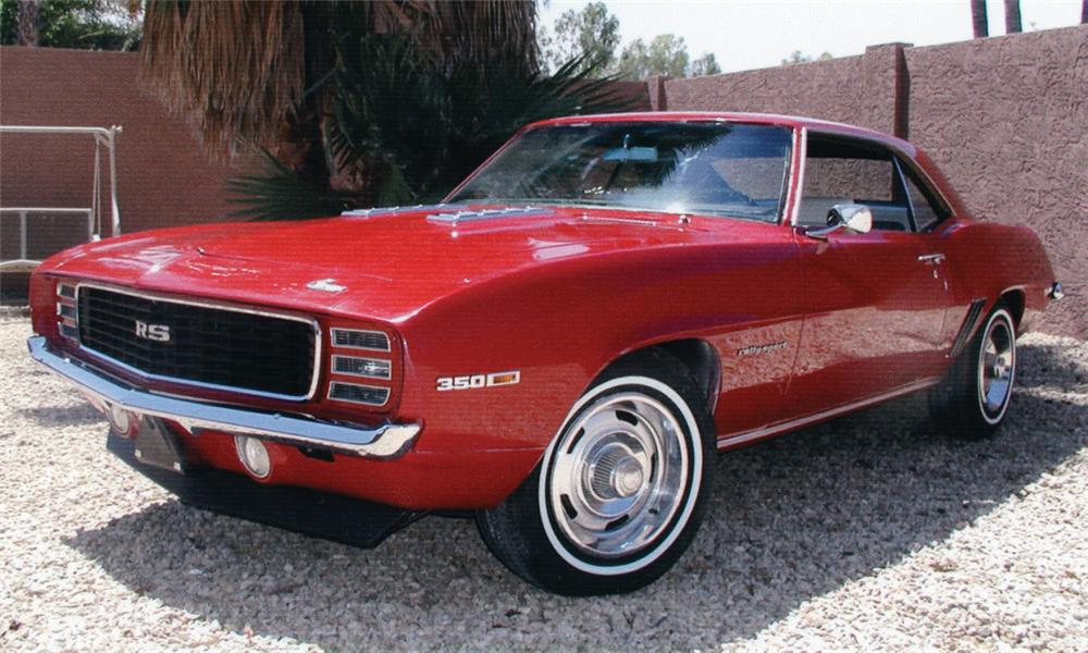 1969 CHEVROLET CAMARO RS COUPE - Front 3/4 - 16273