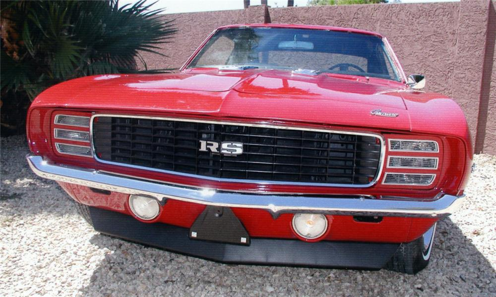 1969 CHEVROLET CAMARO RS COUPE - Rear 3/4 - 16273