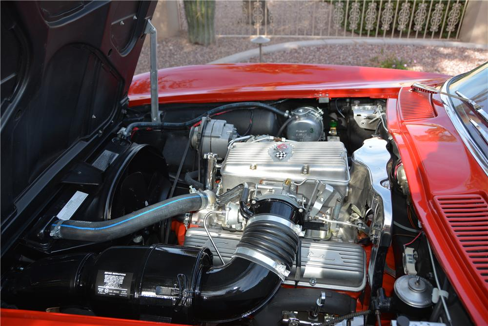 1963 CHEVROLET CORVETTE 2 DOOR COUPE - Engine - 162734