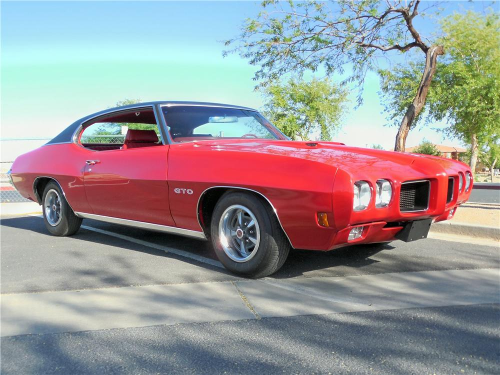 1970 PONTIAC GTO 2 DOOR COUPE - Front 3/4 - 162737