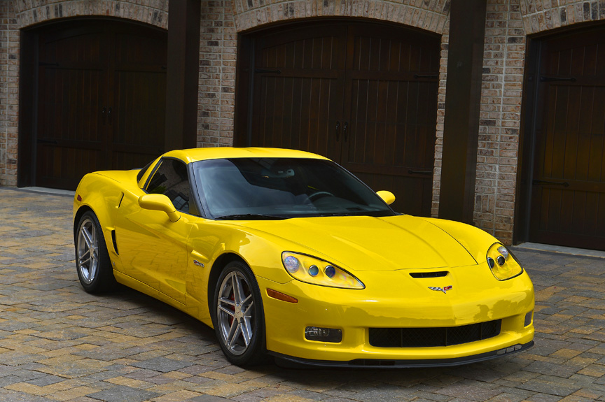 2006 CHEVROLET CORVETTE Z06 2 DOOR COUPE - Front 3/4 - 162746