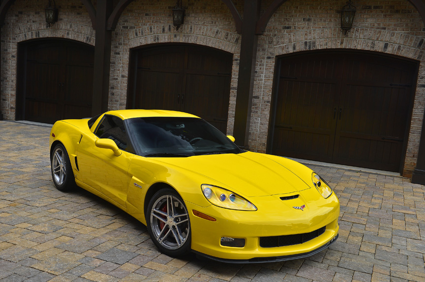 2006 CHEVROLET CORVETTE Z06 2 DOOR COUPE - Side Profile - 162746