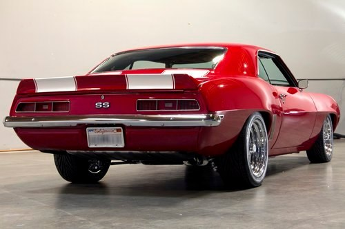 1969 CHEVROLET CAMARO SS CUSTOM 2 DOOR COUPE - Rear 3/4 - 162748